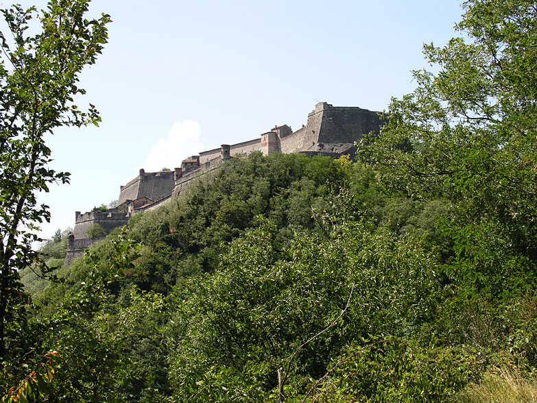 Fortress from below