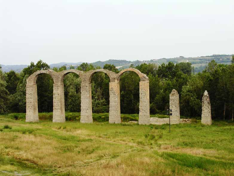 Aqueduct remains Acqui Terme