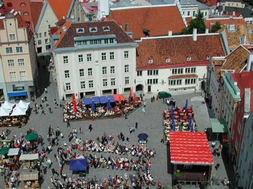 Market Square from Tower